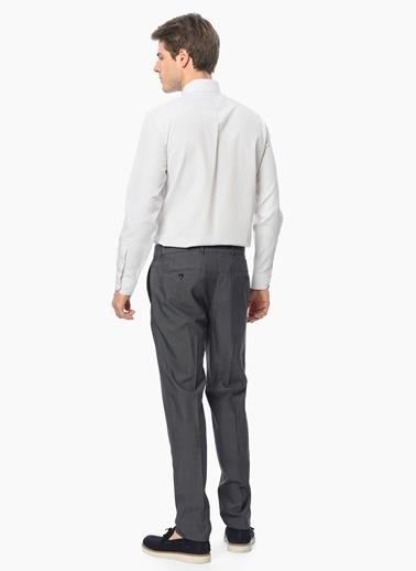George Hogg Uzun Kollu Klasik Gömlek Bej